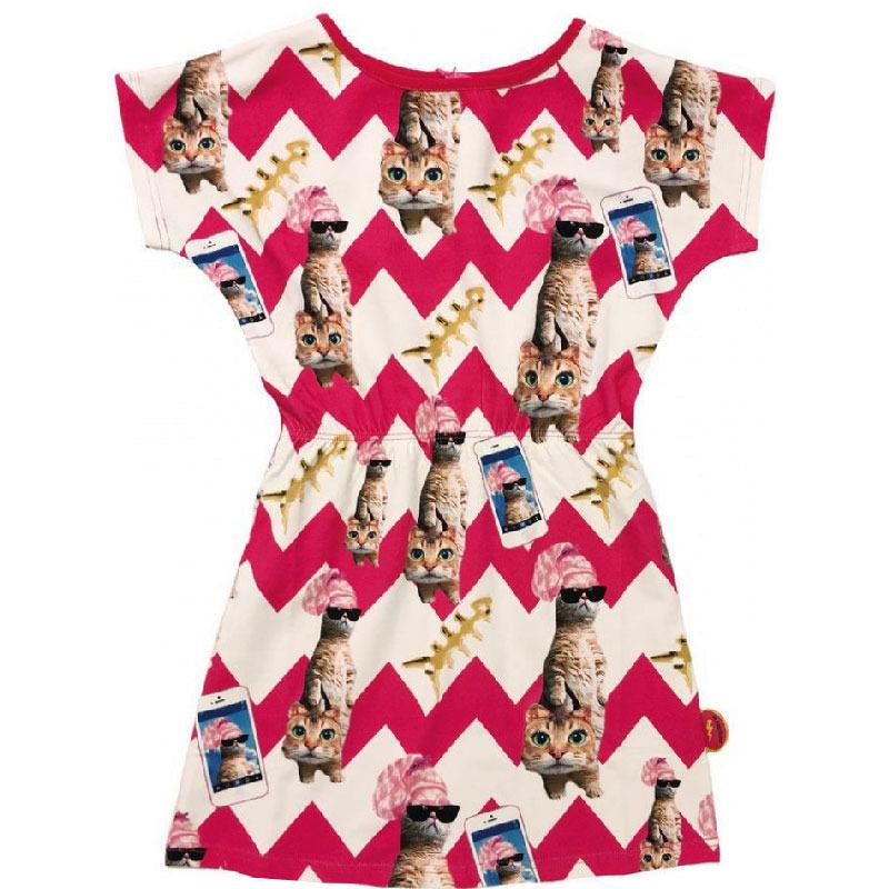 16f67986daf De Kunstboer jurk Shopaholic / Poezen maat 134/140 - PaRit ...