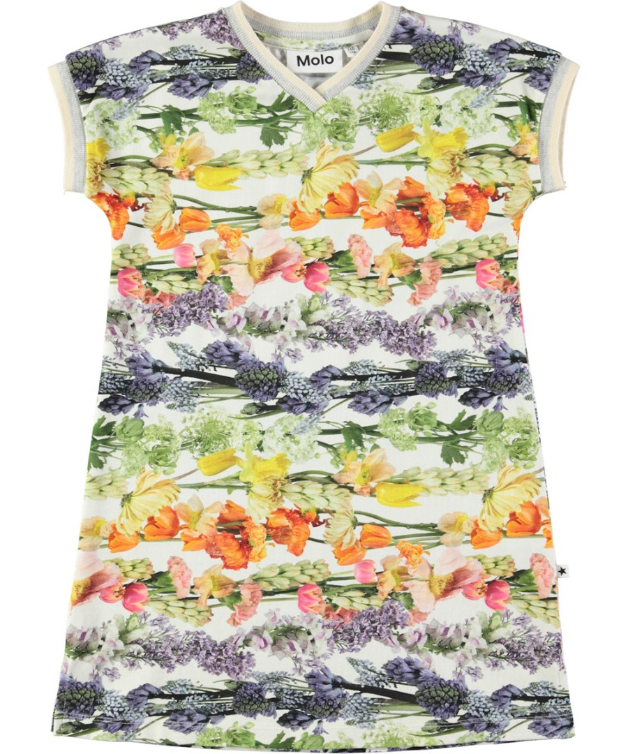 ace96678fe9 Molo California jurk Rainbow Bloom - PaRit kinderkleding- online ...