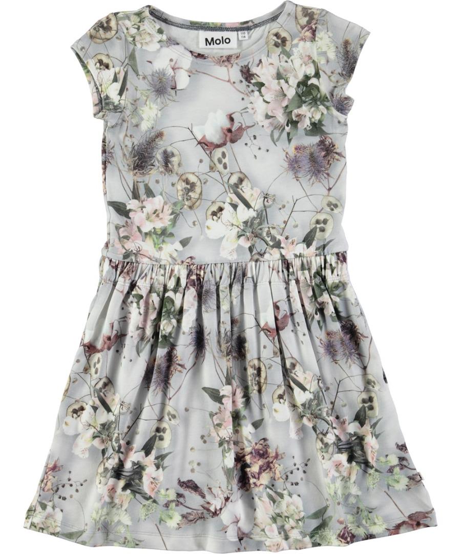 1720df807f4 Molo Carla jurk X-ray Bloom - PaRit kinderkleding- online kleding ...