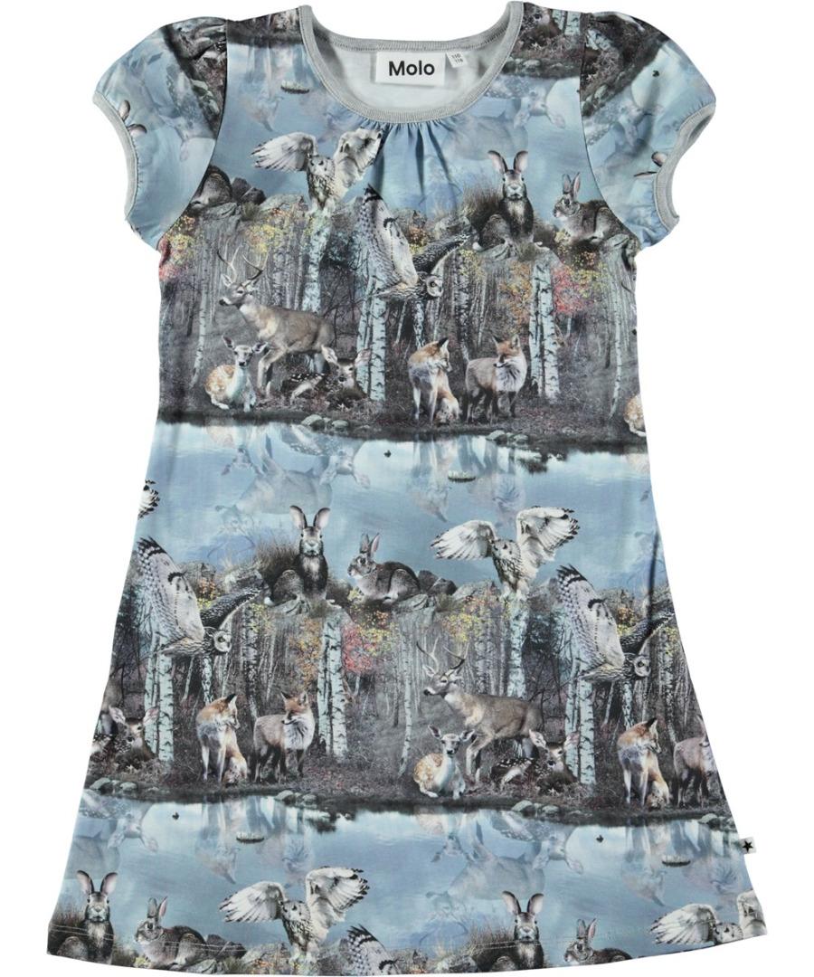 Kinderkleding En Meer.Molo Camellia Jurk By The Forest Lake Parit Kinderkleding Online